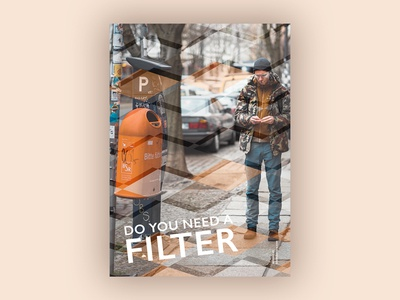 Filter (Blankposter) filter poster typo typography font type print blankposter