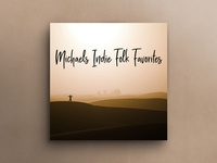 Spotify Playlist Cover – Indie Folk Favorites (Redesign)