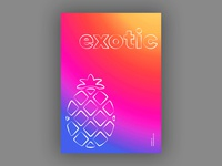 Exotic (Blankposter)