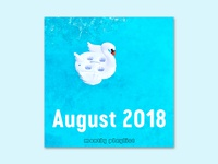 Spotify Playlist Cover (August 2018)
