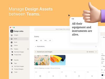 Manage Your Design Assets asset management ux fonts icons designer design assets