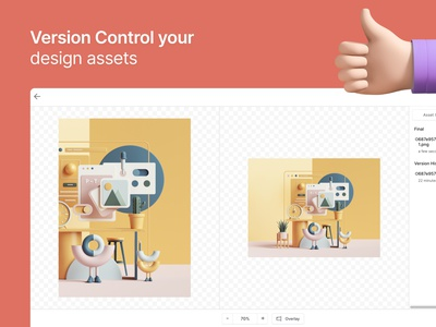 Version Control Your Design Assets design assets asset management git version control file upload storage dropbox manage designs store design assets designs