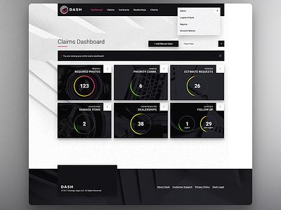 Dash Admin control panel dashboard minimal admin
