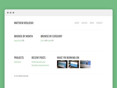Archive wordpress web design html css javascript php blog