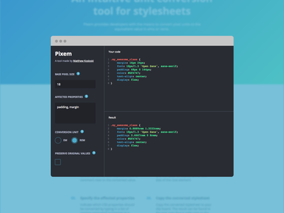 Stylesheet Converter ui sidebar blue gatsbyjs javascript react dashboard site website web web app css