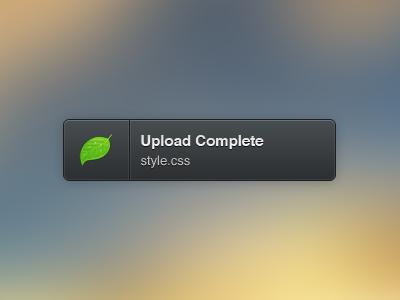 Raccoon - Growl Style growl style growl style notification slick vector ui coda css app theme download free