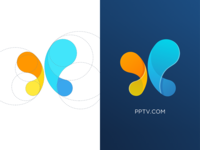 Logo Design(butterfly+water drop)