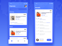 Express App UI Design