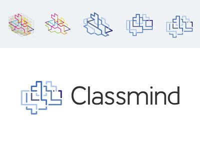 Classmind classmind logo brain neural network social startup