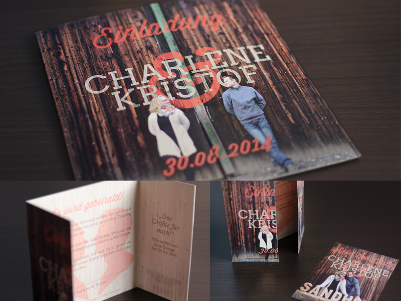 Rustic Wedding Invitation wedding invitation typography wood rustic autumn fall farm