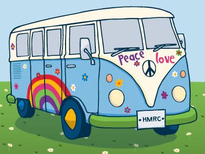 Hippy Camper Van