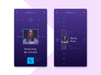 Contact List Concept
