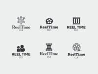 Reeltime Logo Drafts