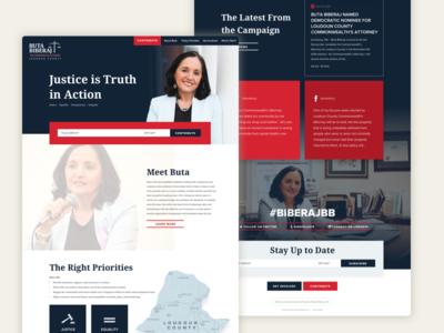 Political Homepage