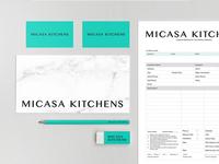 Micasa Kitchens Branding