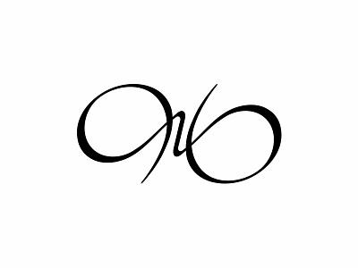 RB Monogram - Logo for a Filmmaker abstract simple clean modern typography design symmetrical rb contemporary film infinity monogram vector symbol mark illustration identity graphic design branding logo