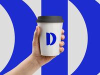D Concept 1 Cup Mockup