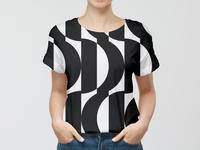 D Concept 1 Logo T Shirt Mockup