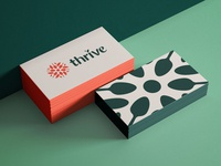 Thrive branding - Cards