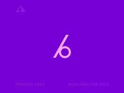 b logo monogram logo geometric design monogram geometry flat logo icon design minimal branding