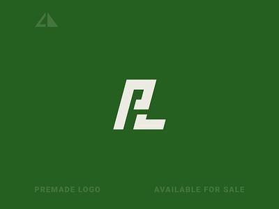 P + L Logo p l monogram logo letter logo monogram geometric design flat logo icon design minimal branding