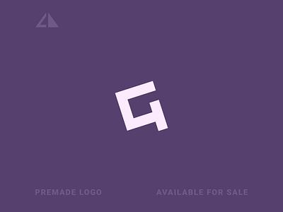 G Logo letter logo monogram logo monogram geometry geometric design icon minimal logo design branding