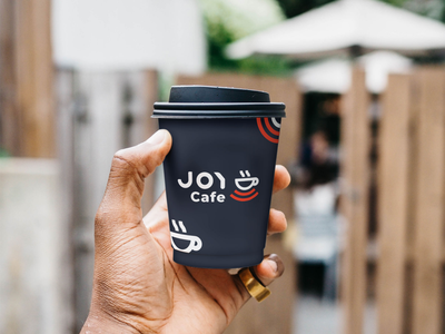 Joy Cafe    Branding & Logo Design logo design visual identity design logo visual identity corporate identity branding