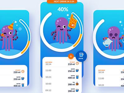 Waterful App    Mobile App Design (UX/UI) user interface design user interface icons iconography mobile app design mobile app app design usability user experience ux design design ux ui