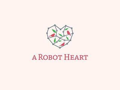 A Robot Heart heart sewing