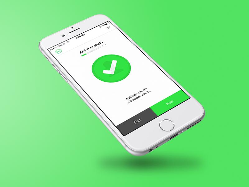 Hirewire On-boarding onboarding profile mobile app