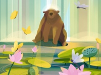 Bear Shower