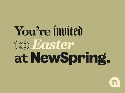 Easter at NewSpring