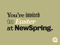 Easter at NewSpring