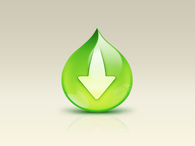 Drop Icon water drop download glass icon mac green