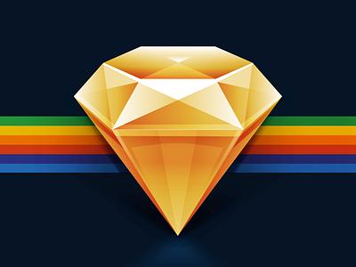 Gold sketch 3 gold symbols vector icon ui web css text bitmap