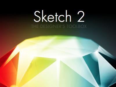 Sketch 2 design designer photoshop adobe ui ux icon illustration diamond futura