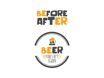 BEfore/aftER Slider Plugin beer logo