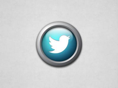 Round Twitter Icon twitter icon social round @2x retina glossy