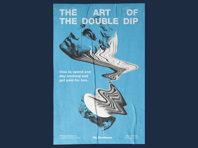 The Double Dip poster freelance education