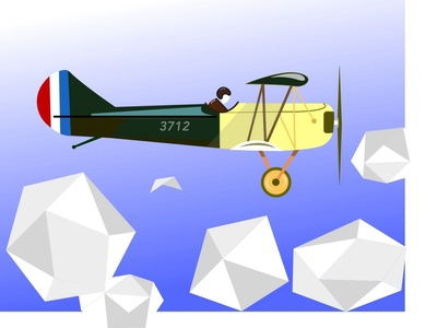 WW1  Fighter Aircraft - Fokker Biplanes