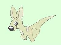 Little Kangaroo - mascote character