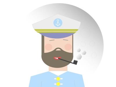 Sailor seaman officer captain sailor sailing marinero