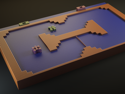 Indy 500 - Pixel Table Top