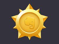 Evernote medal