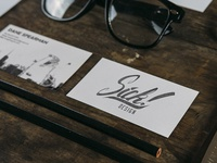 Sick! Design Co. Business Cards