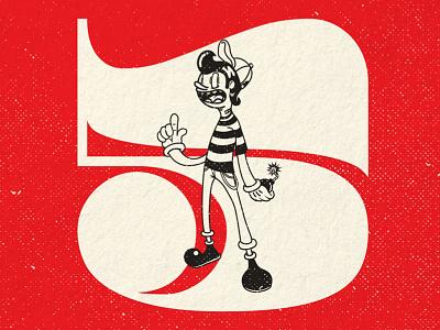 Dandy Boy illustration rubber hose vintage retro 30s