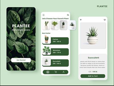Online Plant Shop part 2 design app app mobile design mobile illustration ui ux web ui  ux design ui design art webdesign web onlineshop uiux ui design