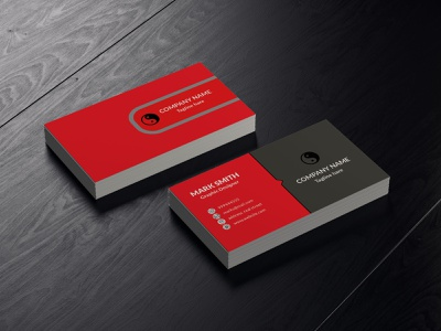Business Card illustration design logo photoshop