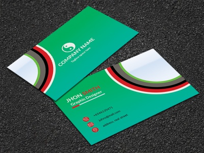 Business Card Design logodesign business card design graphicdesign