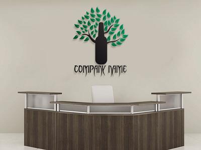 TREE LOGO typography company logo vector illustration graphic design logo logodesign